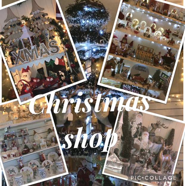 CHRISTMAS BARN - Stocking a wide range of Christmas decorations available at the farm.